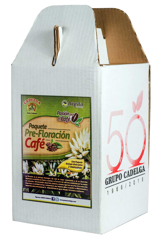 Arysta Paquete Pre-Floración para Café